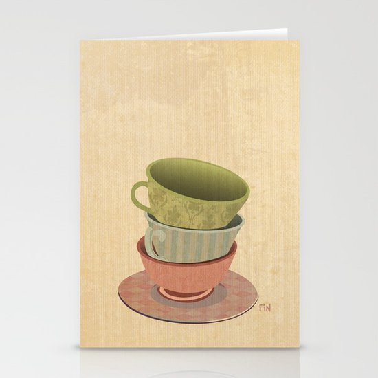 Each Cup of Tea Stationery Card