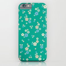 blossom ditsy in emerald Slim Case iPhone 6s
