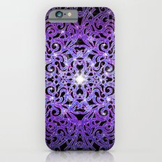 Floral abstract background G103 iPhone 6s Slim Case
