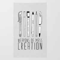 weapons of mass creation Rug