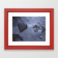 Sidewalk 1 Framed Art Print