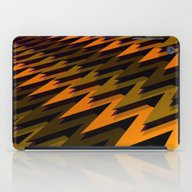3D Chevrons iPad Case
