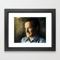 Tribute Robin Williams Framed Art Print