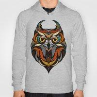 Oldschool Owl Hoody