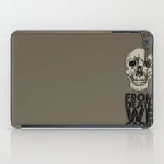 From Death We Grow... iPad Case