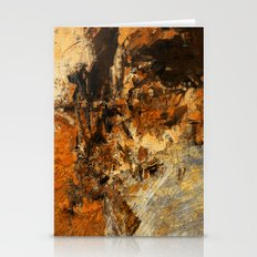 Ocher Wall Stationery Cards