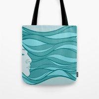 Deep Under Water Tote Bag