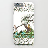 iPhone & iPod Case featuring Jungle Monkey by Lee Libro