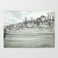 City layers Canvas Print