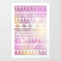 Galaxy Tribal Art Print