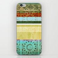 Textile - Green iPhone & iPod Skin