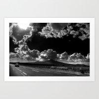 Noche De Día /Sunny Nig… Art Print