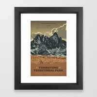 Tombstone Territorial Pa… Framed Art Print