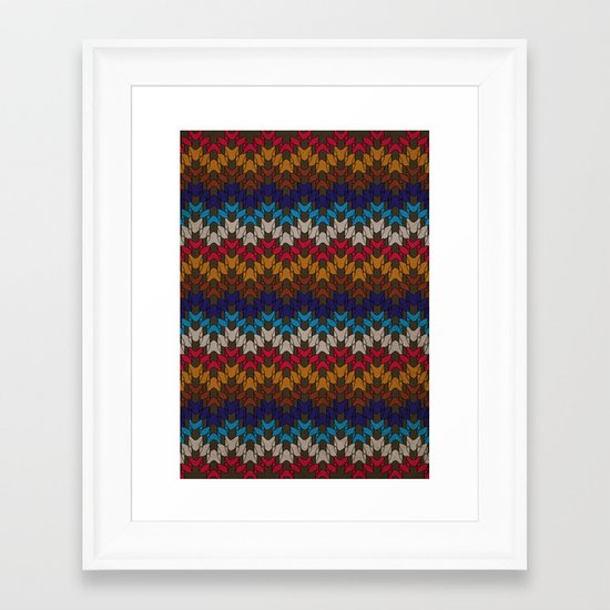 Daddy's Sweater Framed Art Print