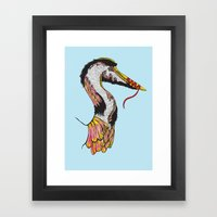 Summer Phantoms Framed Art Print