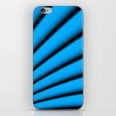 Blue and Black  iPhone & iPod Skin