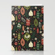 Holiday Ornaments  Stationery Cards