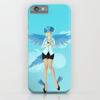 iPhone & iPod Case featuring Twitter Mascot by Cola82