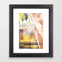 Up All Night Framed Art Print