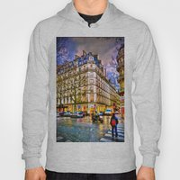 Rainy Evening In Paris, … Hoody