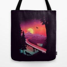 Passing Through Tote Bag