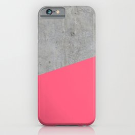 iPhone & iPod Case - Concrete and pink - Santo Sagese