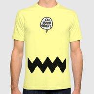 T-shirt featuring CHARLIE CHEVRON by John Medbury (LAZY J…