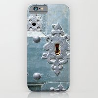 iPhone & iPod Case featuring Old lock by Marieken