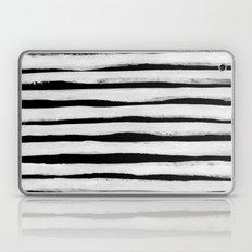 Black and White Stripes II Laptop & iPad Skin