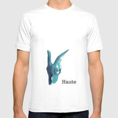 Haute Mens Fitted Tee White SMALL