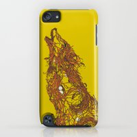 iPod Touch Cases featuring Born To Be Natural by Huebucket