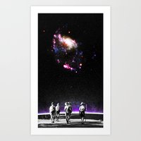 Explore The Unknown Art Print