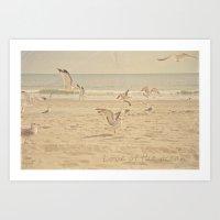 Love of the Ocean Art Print
