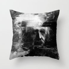 Albert Einstein Throw Pillow