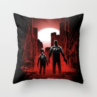 Quarantine: Joel And Ell… Throw Pillow