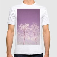 Winter's longing ~ Abstract  Mens Fitted Tee Ash Grey SMALL