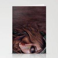 Disturbance Of The Pain-… Stationery Cards
