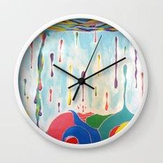 Plenty Of Sea In The Fish Wall Clock