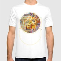 Collateral^2ndHand°Floo… Mens Fitted Tee White SMALL