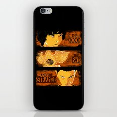 The good The bad and The strange iPhone & iPod Skin