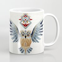 owl winter Mug
