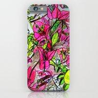 Bougainvillea 2 iPhone 6 Slim Case