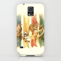 Galaxy S5 Cases featuring House Brawl by Alice X. Zhang