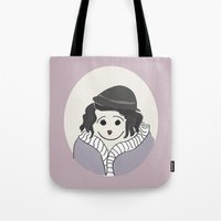Piaf - La Vie En Rose Tote Bag