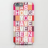 iPhone & iPod Case featuring Love As Though by Becca Pike