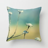 Straight For This Life Throw Pillow