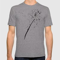 Dandelion Mens Fitted Tee Athletic Grey SMALL