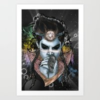 Indigo Child Art Print