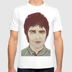 Noel Gallagher Mens Fitted Tee White SMALL