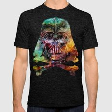 Darth Cosmos Mens Fitted Tee Tri-Black SMALL